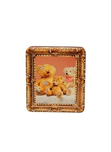 Dünya Style Bears Family Ayıcık Desenli Metal Kutu Renkli